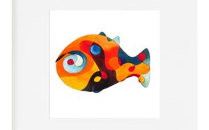 Pez|IlustracióndeRICHARD MARTIN| Compra arte en Flecha.es