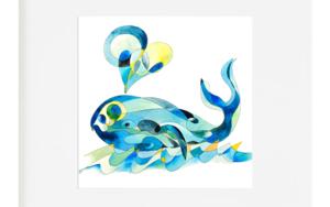 Ballena|DibujodeRICHARD MARTIN| Compra arte en Flecha.es
