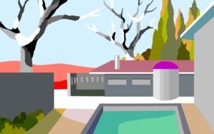 Casa de verano|DigitaldeALEJOS| Compra arte en Flecha.es