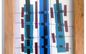 Calle azul|CollagedeFabiana Zapata| Compra arte en Flecha.es