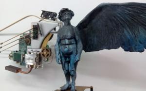 …como lágrimas en la lluvia.|EsculturadeReula| Compra arte en Flecha.es
