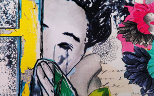 """Inocencia inesperada""|CollagedeAna Soler Fernandez| Compra arte en Flecha.es"
