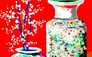Dos jarrones chinos|DibujodeALEJOS| Compra arte en Flecha.es