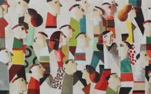 VAMOS|Obra gráficadeDidier Lourenço| Compra arte en Flecha.es