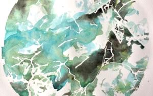 ESTUDIO II, GLIMMER OF SUN|IlustracióndeJuanGuízar| Compra arte en Flecha.es
