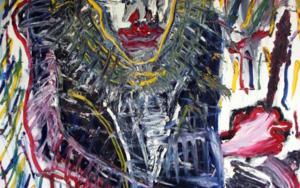 Genio creador. chaman en estado de trance. PinturadeEkhi Huarte  Compra arte en Flecha.es