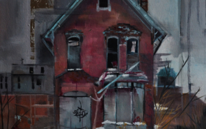 Entre grises|PinturadeMarta Albarsanz| Compra arte en Flecha.es