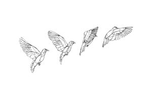 Migración|DibujodeTaquen| Compra arte en Flecha.es