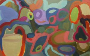 MERIENDA VERDE|PinturadeSINO| Compra arte en Flecha.es