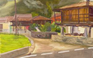 Hórreos  y Paneras|PinturadeIgnacio Mateos| Compra arte en Flecha.es