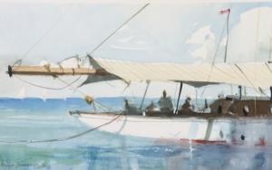 En el puerto|PinturadeIñigo Lizarraga| Compra arte en Flecha.es