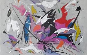 Silence - Beethoven|PinturadeValeriano Cortázar| Compra arte en Flecha.es
