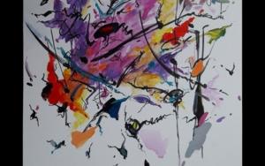 Un Sospiro - Franz Liszt PinturadeValeriano Cortázar  Compra arte en Flecha.es