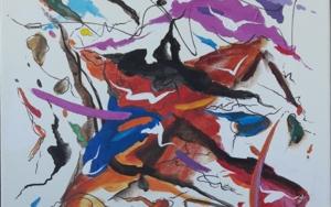Joie de vivre - Chopin|PinturadeValeriano Cortázar| Compra arte en Flecha.es