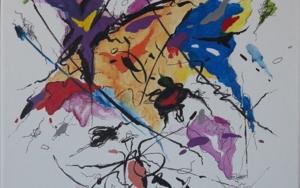 Dream of love - Franz Liszt|PinturadeValeriano Cortázar| Compra arte en Flecha.es
