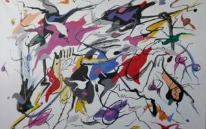 Hey, Thats no way to say goodbye|PinturadeValeriano Cortázar| Compra arte en Flecha.es
