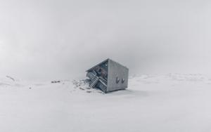 Casa torcida|FotografíadeRoberto Iván Cano| Compra arte en Flecha.es