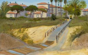 Dunas en Isla Canela PinturadeIgnacio Mateos  Compra arte en Flecha.es