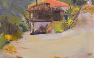 Hórreo en Bueño|PinturadeIgnacio Mateos| Compra arte en Flecha.es