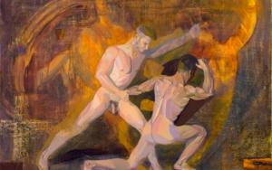 Sueño:  el Cuadrado y el Artista|PinturadeIgnacio Mateos| Compra arte en Flecha.es