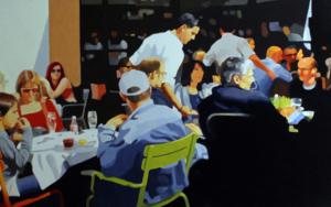 Terraza el lobo|PinturadeJose Belloso| Compra arte en Flecha.es