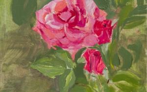 Rosas 2 PinturadeIgnacio Mateos  Compra arte en Flecha.es