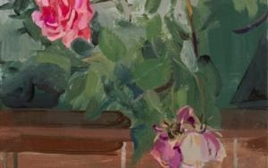 Rosas 7 PinturadeIgnacio Mateos  Compra arte en Flecha.es