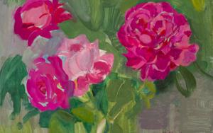 Rosas 11|PinturadeIgnacio Mateos| Compra arte en Flecha.es