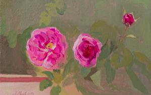 Rosas 17|PinturadeIgnacio Mateos| Compra arte en Flecha.es