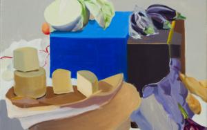Bodegón cyan y ultramar|PinturadeIgnacio Mateos| Compra arte en Flecha.es