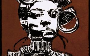 Tribu Mursi|CollagedeAlicia Calbet| Compra arte en Flecha.es