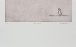 Niña solita|Obra gráficadeAna Valenciano| Compra arte en Flecha.es