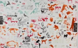 Animales|Obra gráficadeAna Valenciano| Compra arte en Flecha.es