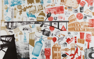 Cosas|Obra gráficadeAna Valenciano| Compra arte en Flecha.es