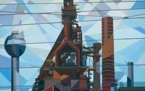 Charleroi|PinturadeLuis Monroy Esteban| Compra arte en Flecha.es