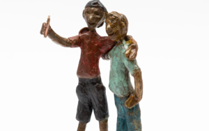 Selfi|EsculturadeAna Valenciano| Compra arte en Flecha.es