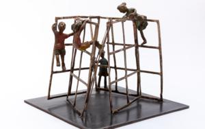 El laberinto. Serie Plazas|EsculturadeAna Valenciano| Compra arte en Flecha.es