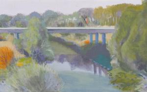 El Duero en Herrera|PinturadeIgnacio Mateos| Compra arte en Flecha.es
