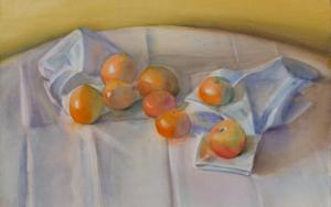 Ocre, naranja, gris|PinturadeIgnacio Mateos| Compra arte en Flecha.es