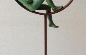 Un buen libro|EsculturadeCharlotte Adde| Compra arte en Flecha.es
