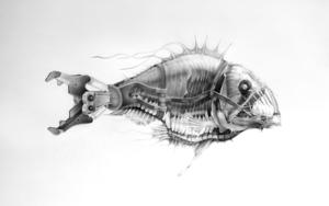 Abisal|DibujodeJose Juan Botella| Compra arte en Flecha.es