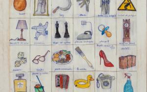 60 cosas|PinturadeAna Valenciano| Compra arte en Flecha.es