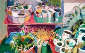 SEMILLEROS DE ALCA Y JOSE|PinturadeCarlota Rios| Compra arte en Flecha.es