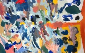 COMPOSICIÓN A CUATRO|PinturadeIraide Garitaonandia| Compra arte en Flecha.es