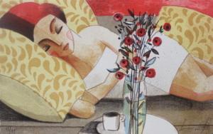 La Siesta|Obra gráficadeDidier Lourenço| Compra arte en Flecha.es