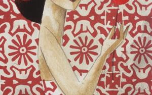 Red Flower|Obra gráficadeDidier Lourenço| Compra arte en Flecha.es