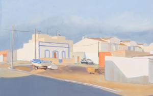 Isla del moral|PinturadeIgnacio Mateos| Compra arte en Flecha.es