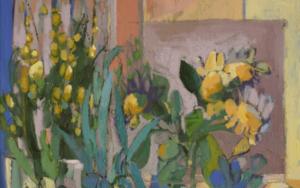 """""""Mercado de las flores. Flores"""" PinturadeCarolina Veramendi B  Compra arte en Flecha.es"""