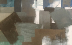 VOLÚMENES SUMERGIDOS|PinturadeVerónica B. Loring| Compra arte en Flecha.es