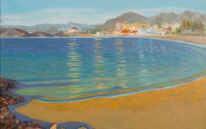 Otoño en el Puerto de Mazarrón|PinturadeIgnacio Mateos| Compra arte en Flecha.es